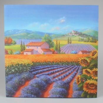 Tablou pe pânză pentru perete Dakls Violet, 50x50cm