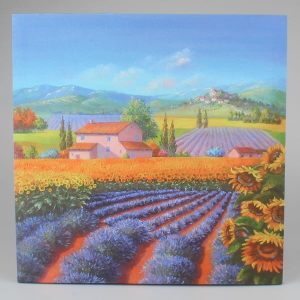 Nástenný obraz na plátne Dakls Violet, 50 x 50 cm