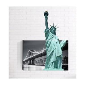 Nástěnný 3D obraz Mosticx Socha Svobody, 40 x 60 cm
