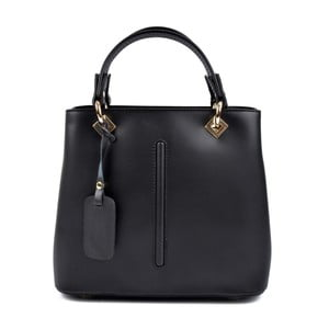 Černá kožená kabelka Roberta M Mismono