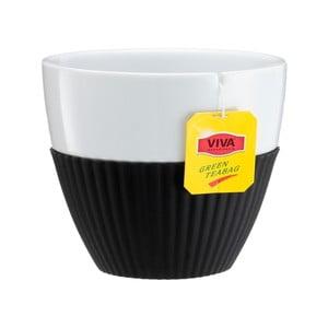 Hrnky na čaj Anytime, černé, 2 ks