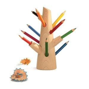 Set stojanu a 12 pastelek Mon Petit Art Crayons