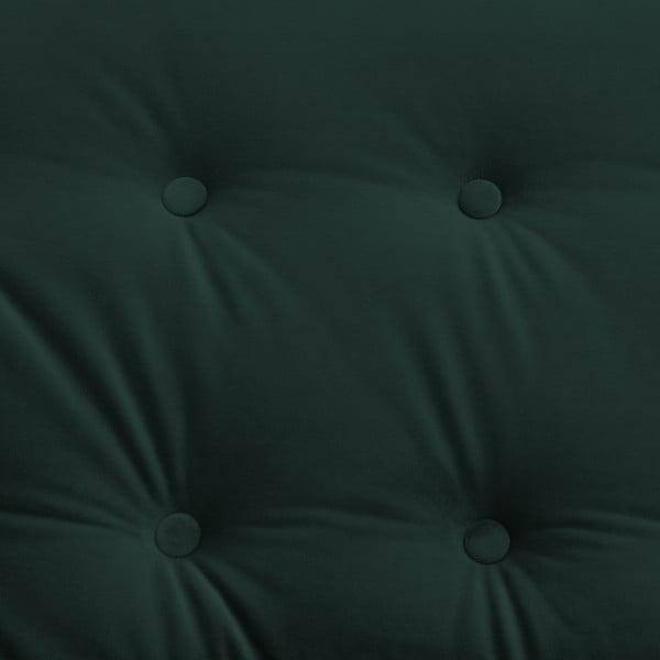 Zelená trojmístná pohovka Vivonita Laurel Petrol