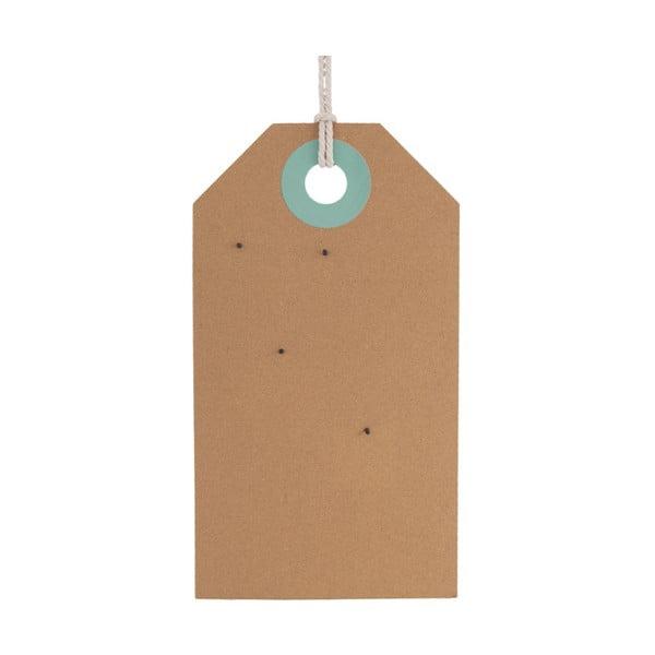 Memo Board parafa tábla zöld és kék részletekkel, 60 x 34 cm - PT LIVING