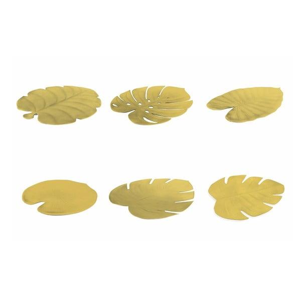 Sada 6 prostírání ve zlaté barvě Villad'Este Styles