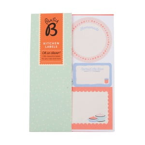 Štítky na kořenky Busy B Kitchen Labels