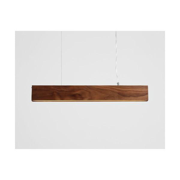 Závěsné svítidlo z ořechového dřeva Custom Form Line Plus M Woody