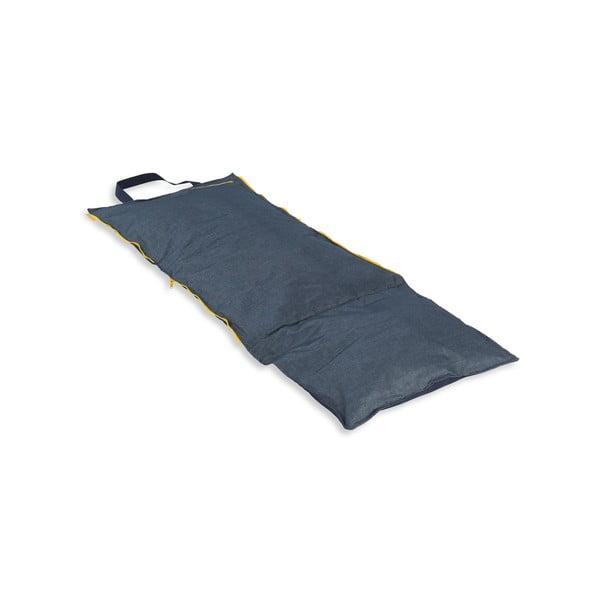 Skládací lehátko Hhooboz 150x62 cm, tmavě modré