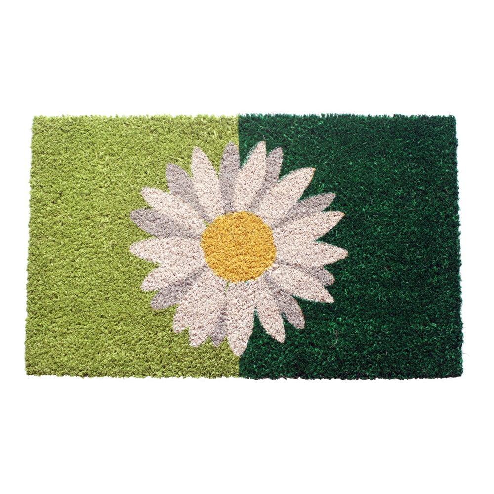 Rohožka Entryways One Daisy on Green, 40 x 60 cm