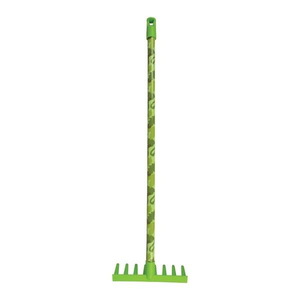 Zelené dětské plastové hrábě Esschert Design Klasik