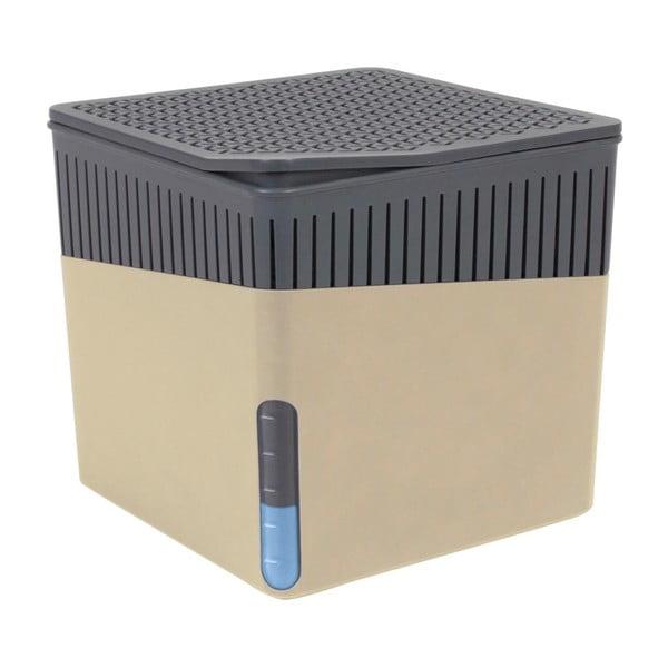 Béžový odvlhčovač vzduchu Wenko Cube