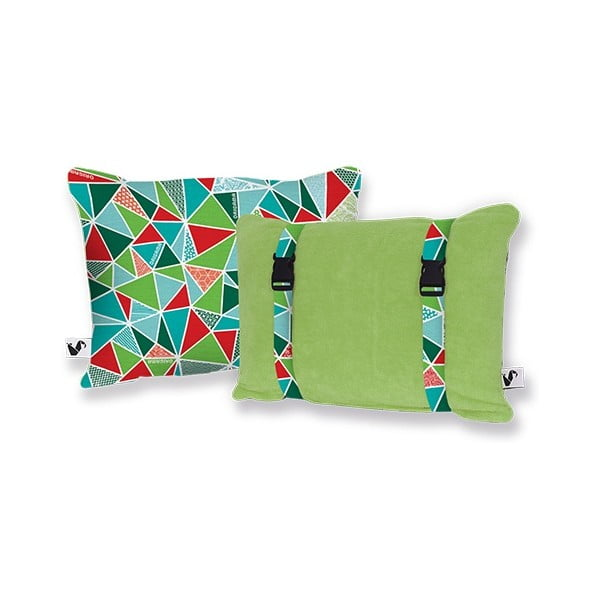 Plážový polštářek Origama Olive Geo