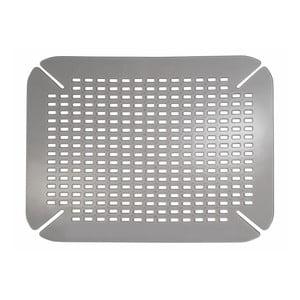 Stříbrná podložka do dřezu InterDesign Contour
