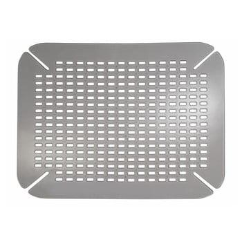Protecție pentru chiuvetă iDesign Contour, gri/argintiu imagine