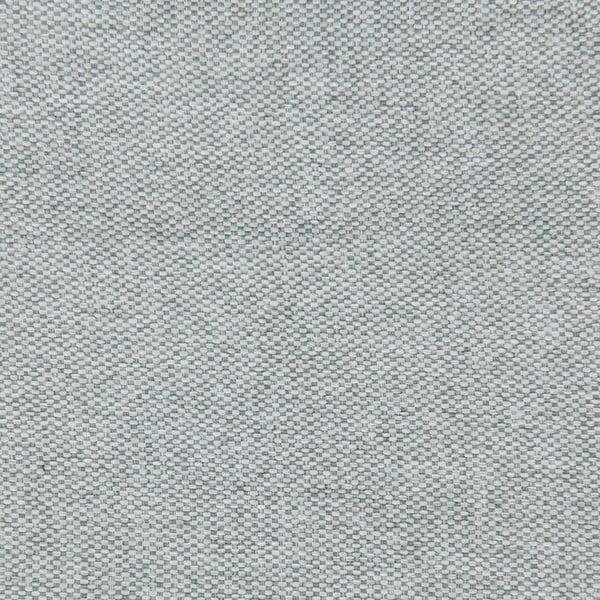 Šedá postel s tmavě šedými knoflíky a černými nohami Vivonita Kent,140x200cm