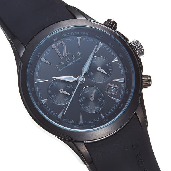 Pánské hodinky Cross Agency Black, 42.5 mm