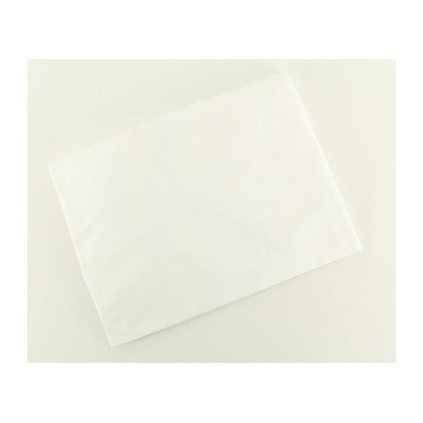 Elastické prostěradlo Ranforce White, 140x190 cm
