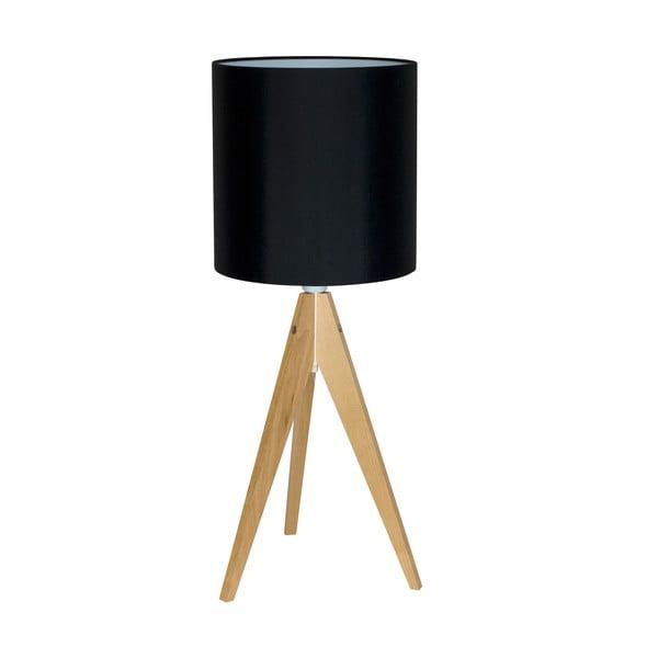 Stolní lampa Artist Black/Birch, 40x25 cm