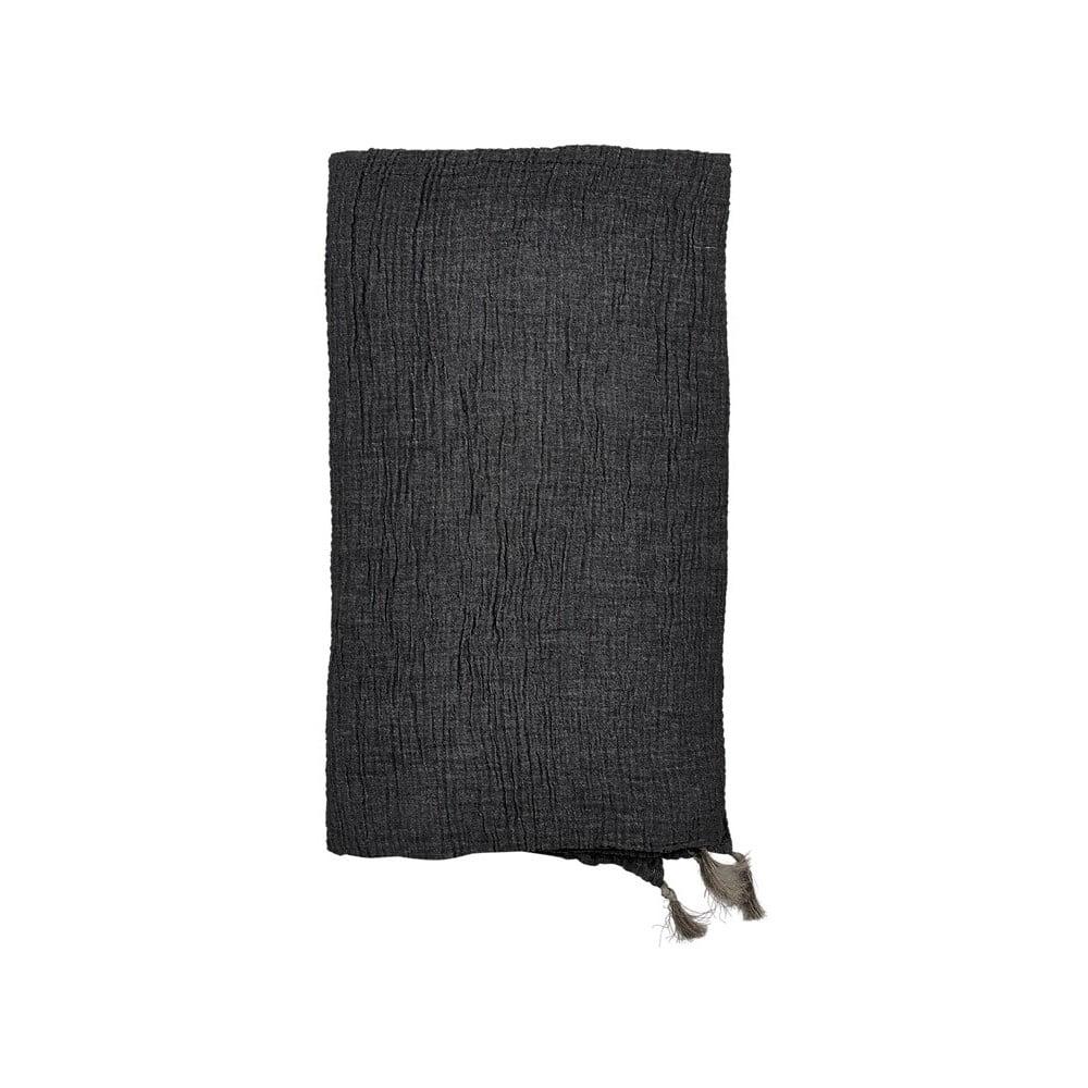 Šedý bavlněný přehoz přes postel na dvoulůžko Södahl Poetry,200x260cm