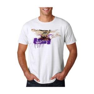 Pánské tričko s krátkým rukávem KlokArt Trabant, vel. XXL