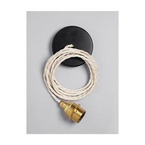 Závěsný kabel Brass Ivory Cream