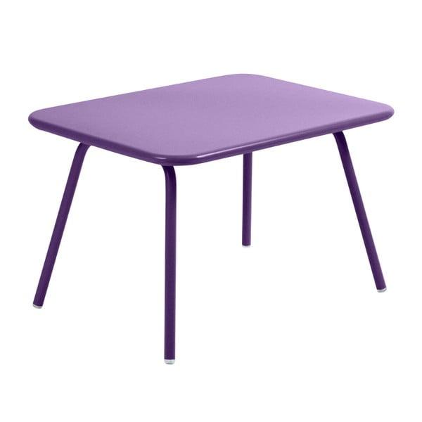 Fialový dětský stůl Fermob Luxembourg
