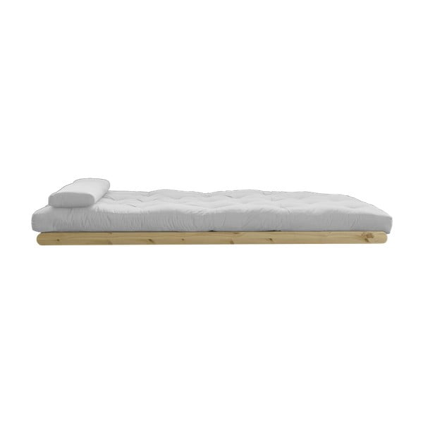 Dvoumístná variabilní lenoška Karup Figo Raw/Light Grey