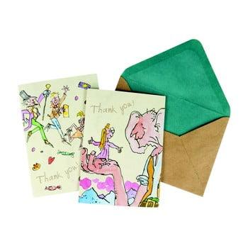 Set 10 felicitări cu plic Roald Dahl by Portico Designs de la Portico Designs