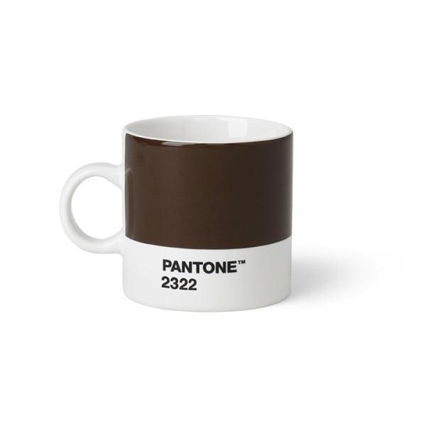 Cană Pantone Espresso, 120 ml, maro