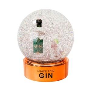 Dekorativní sněžítko s lahví ginu Talking tables,⌀10cm