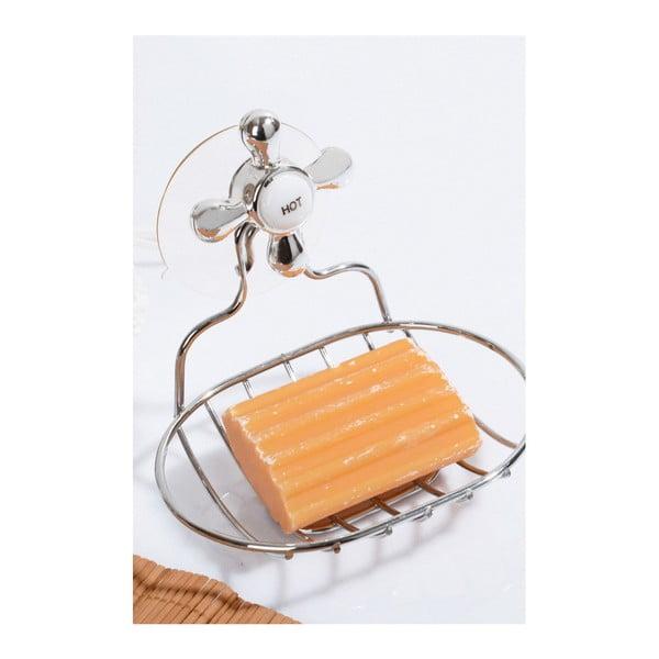 Závěsný držák na mýdlo z nerezové oceli Lola, 13 x 10 cm