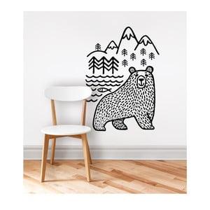 Nástěnná samolepka Wild Bear Animal, 42x60 cm