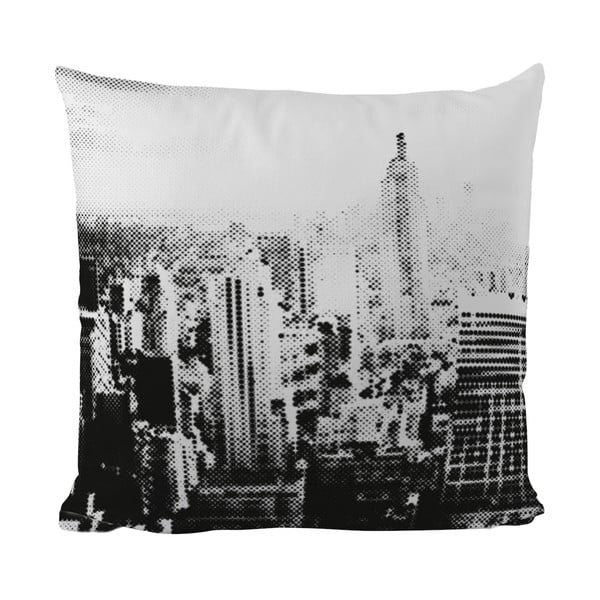 Polštářek Black Shake In The City, 40x40 cm