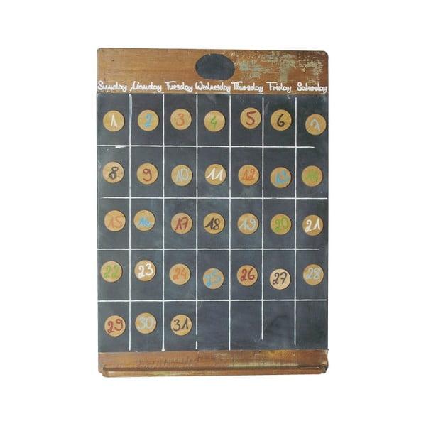 Magnetický kalendář Vintage
