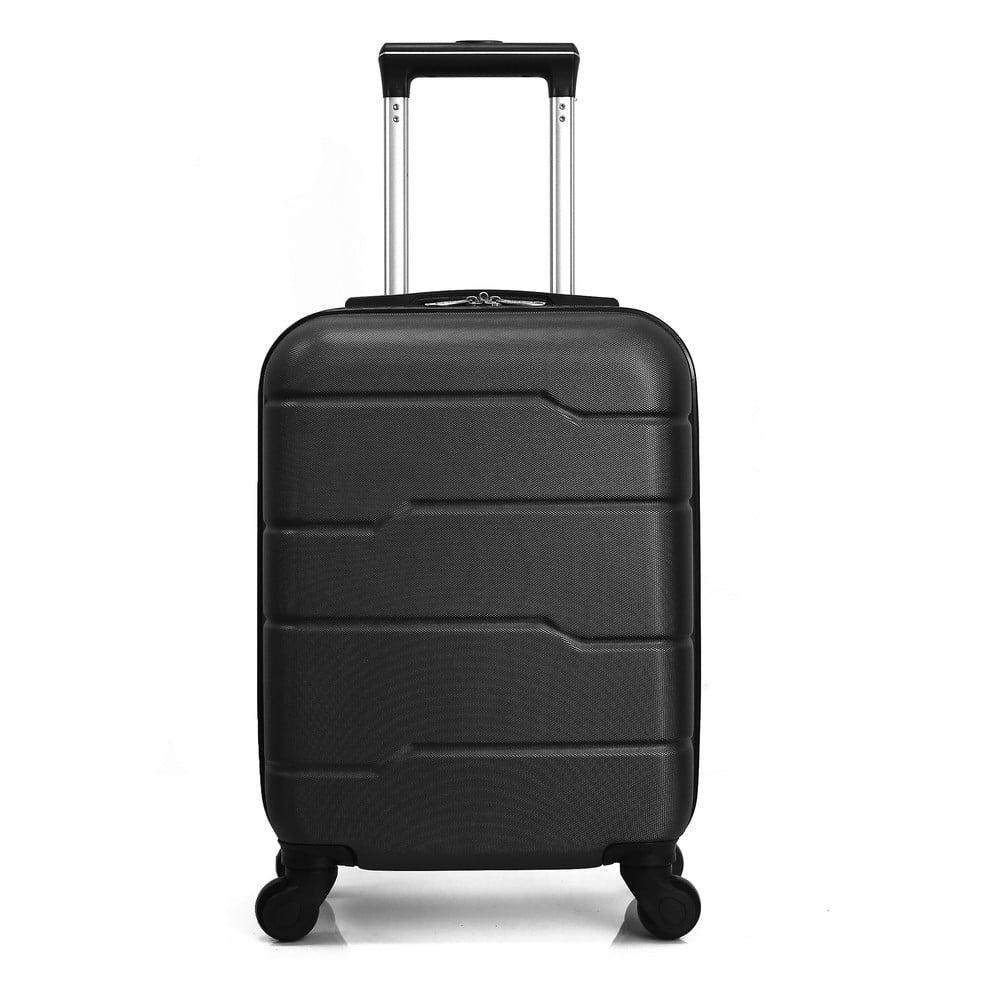 Černý cestovní kufr na kolečkách Hero Santiago, 30 l