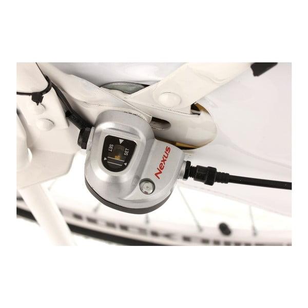 """Kolo Tussaud White 28"""", výška rámu 54 cm, 3 převody"""