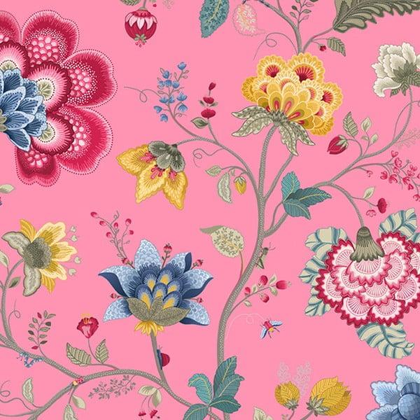 Tapeta Pip Studio Floral Fantasy, 0,52x10 m, růžová