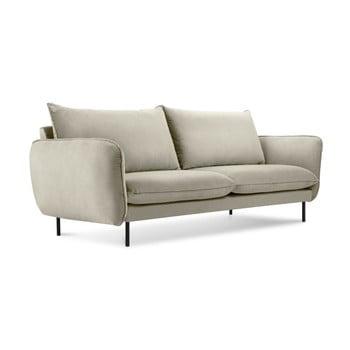 Canapea cu 2 locuri Cosmopolitan Design Vienna, bej de la Cosmopolitan Design