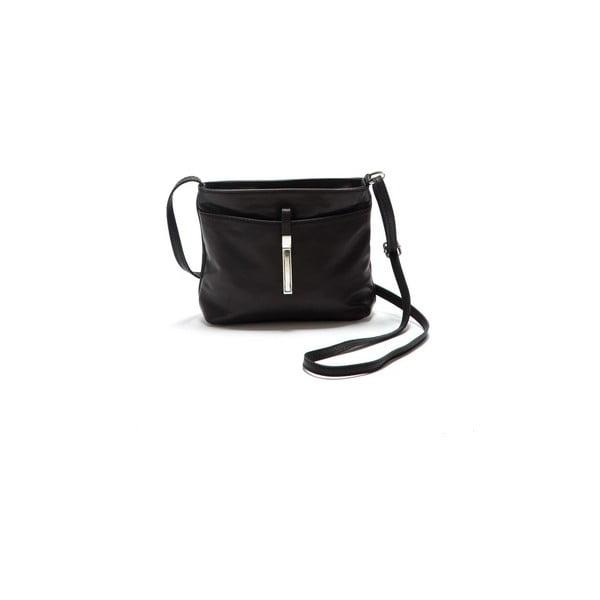 Černá kožená kabelka Roberta M Ema