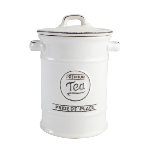 Bílá keramická dóza na čaj T&G Woodware Pride of Place