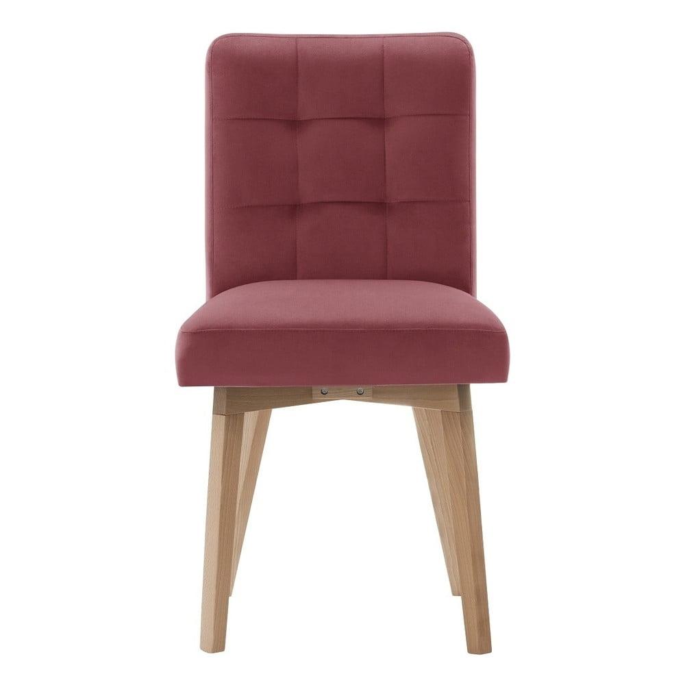 a68c8192bc2c Růžová jídelní židle My Pop Design Haring