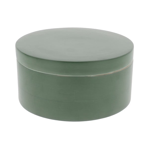 Zelený bambusový úložný box s víkem Compactor Bamboo Box