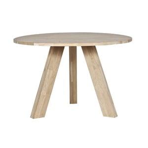 Jídelní stůl z dubového dřeva De Eekhoorn Rhonda, Ø129cm