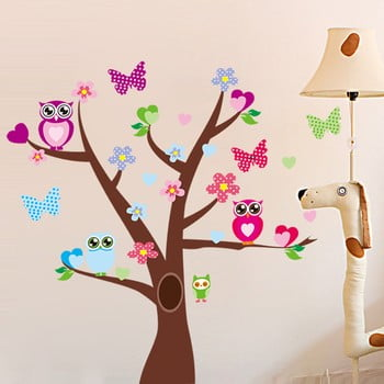 Autocolant Tree and Butterflies on Tree de la Ambiance