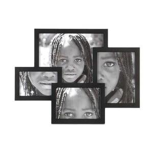 Fotorámeček Black Puzzle, 47x36 cm