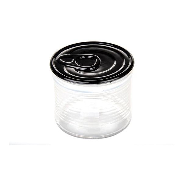Dóza Kaleidos 10,5x9 cm, černá