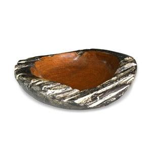 Dřevěná miska z teakového dřeva Moycor Bowl Erosi