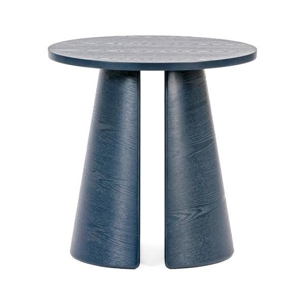 Măsuță auxiliară rotundă Teulat Cep, ø 50 cm, albastru