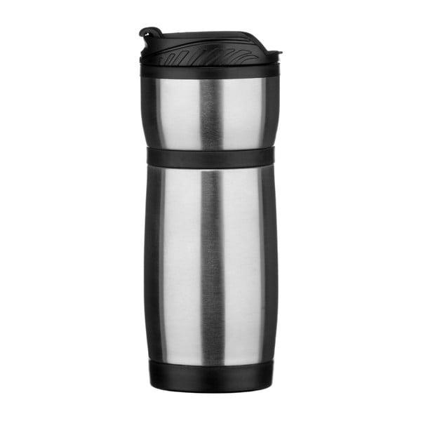 Černobílá termo láhev Premier Housewares