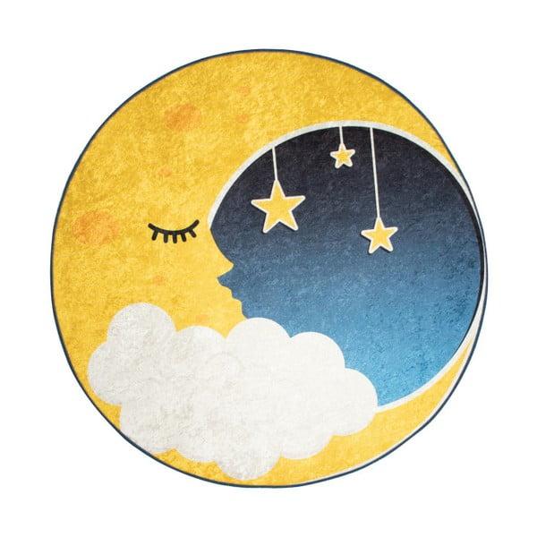Detský koberec Moon, ⌀ 140 cm